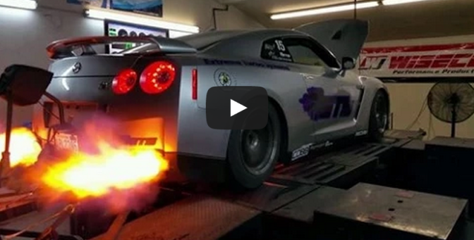 Extreme Turbo Systems Real 2000whp GT-R Dyno