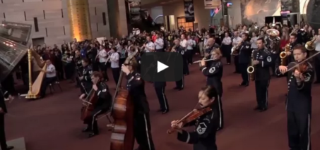 Flash Mob: The U.S. Air Force Band at the Smithsonian