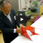 Gift wrapping in Japan – One piece of tape!