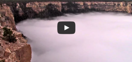 Grand Canyon Total Cloud Inversion: December 11, 2014