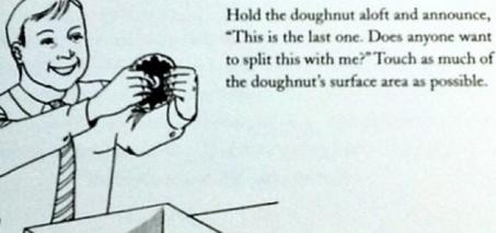 How to take the last doughnut