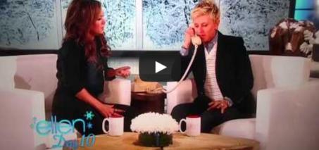Leah Remini Ellen Cheating Prank Real OR Fake?