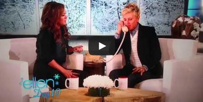 Leah Remini Ellen Cheating Prank