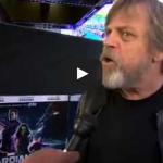 Mark Hamill, Luke Skywalker actor, on Star Wars Episode VII Arts