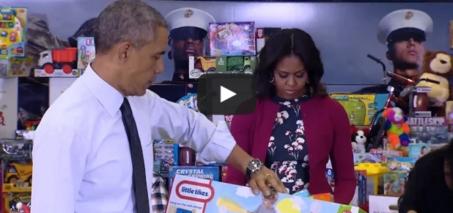 Obama Tackles Toy-Gender Stereotypes