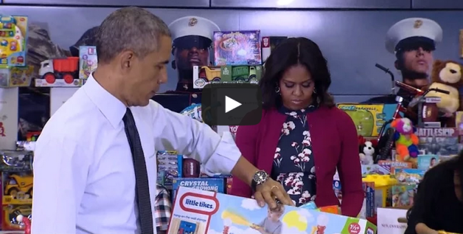 Obama Tackles Toy-Gender Stereotypes