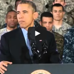 Obama's 'Santa in Fatigues' Joke Silences the Audience
