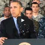 Obama's 'Santa in Fatigues' Joke Silences the Audience