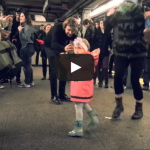 People dance to Grateful Dead cover at a subway station