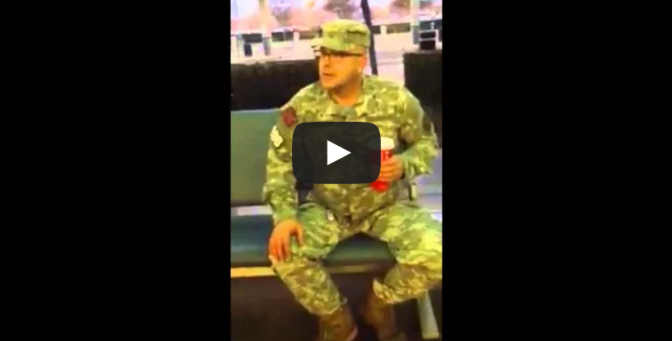 Stolen Valor At Fresno Airport