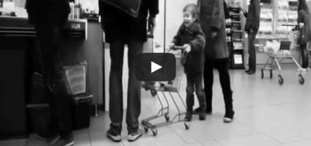 The sad end for a mischievous child in a grocery store