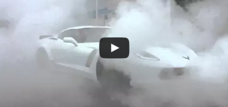 Vengeance Racing 2015 C7 Z06 Obligatory Dealership delivery burn out!!!