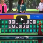 Wheel of Fortune: Man guesses phrase with 1 letter showing