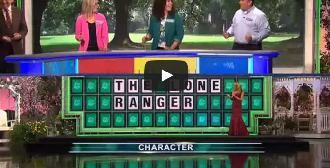 Wheel Of Fortune Man Guesses Phrase With 1 Letter Showing