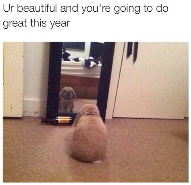 ur beautiful and you're going to do great this year