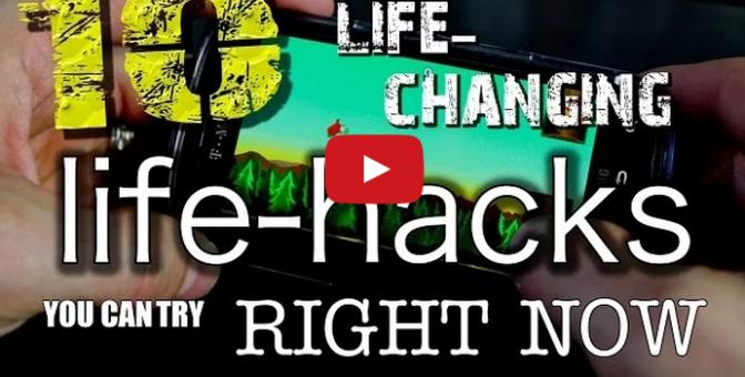 10 Amazing & Life-Changing Life Hacks!