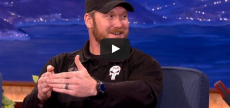 """American Sniper"" Chris Kyle Interview – CONAN on TBS"