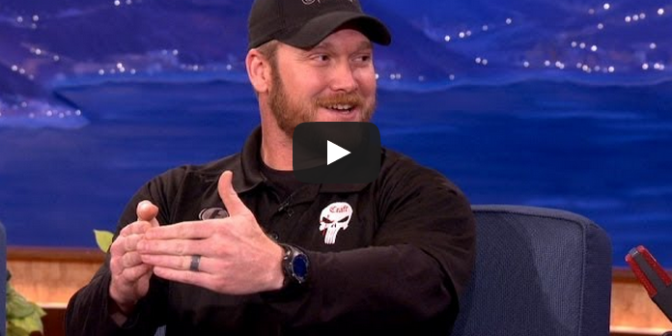 Quot American Sniper Quot Chris Kyle Interview Conan On Tbs