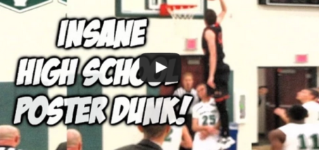 High School JR Andy Lucien UNBELIEVABLE POSTER DUNK #SCtop10
