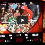 Angry boyfriend's girlfriend stolen by Benny the Bull
