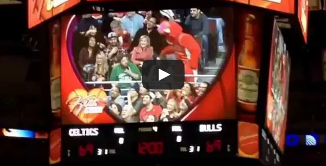 Angry boyfriend's girlfriend stolen by the Chicago Bull