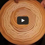 Dance on the circle. Clay Pottery Wheel Art