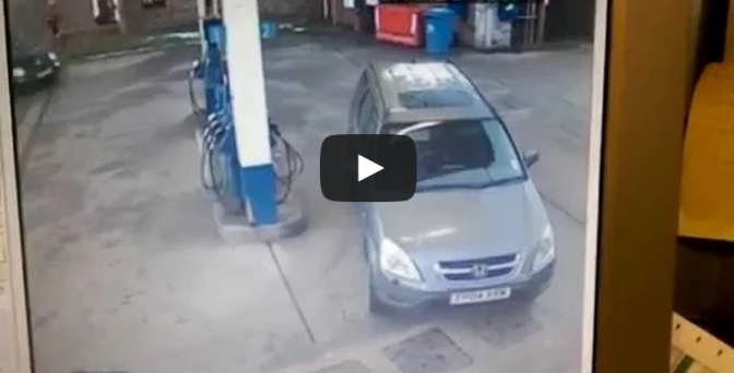 I'm sure my petrol cap was on this side