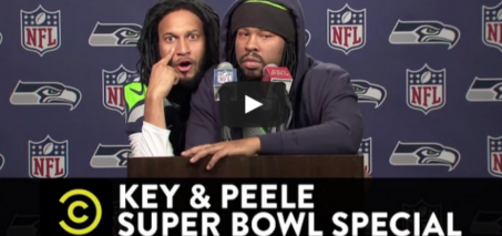 Key & Peele Super Bowl Special – Marshawn Lynch and Richard Sherman's Joint Press Conference