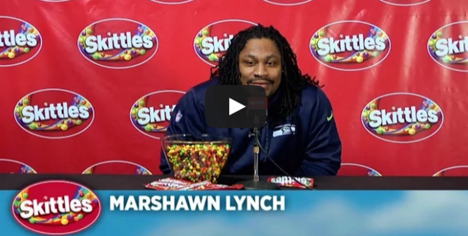 Can we make the picture Marshawn Lynch eating skittles the new /sub/NFL  sidebar picture?