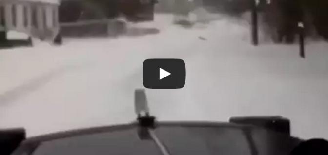 Snow Plowing Like a Boss in Boston