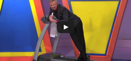 The Price Is Right – George Falls Off A Treadmill