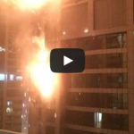 Fire on 50th floor of Torch Residential Tower in Dubai