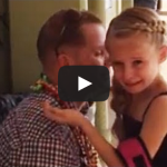 Girl Leaves School to Find Military Dad Home From 6 Month Deployment