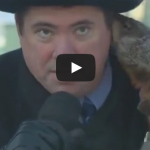 Jimmy the Groundhog bites Sun Prairie mayor Jonathan Freund