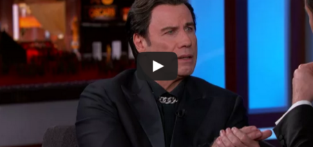John Travolta Explains Idina Menzel Moment