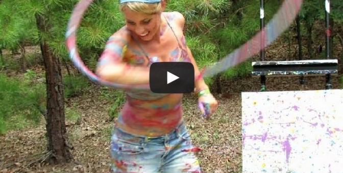 Katie Sunshine's Paint Hoop