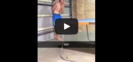 Kid throws ping pong bat!! ORIGINAL!!