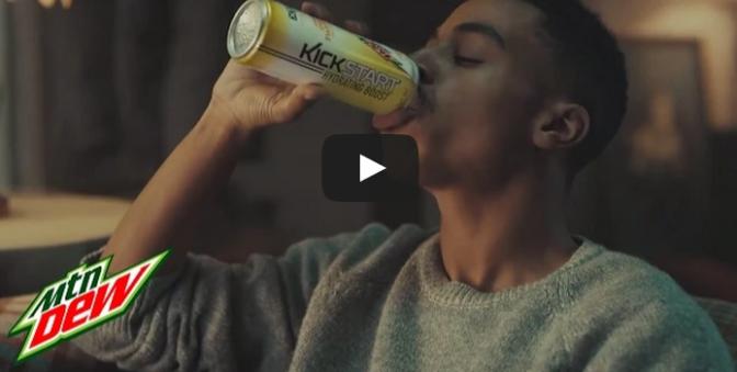 Mtn Dew Kickstart commercial