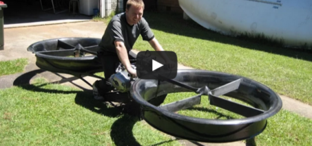 New Invention – Hoverbike (2014)