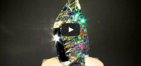 Optical Glass Sculptures by fine art glass artist Jack Storms – The Glass Sculptor
