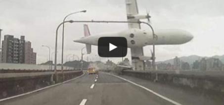 Taiwan Plane Crash: Passenger Jet Hits Bridge