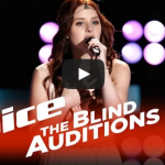 """The Voice 2015 Blind Audition – Brooke Adee: """"Skinny Love"""""""