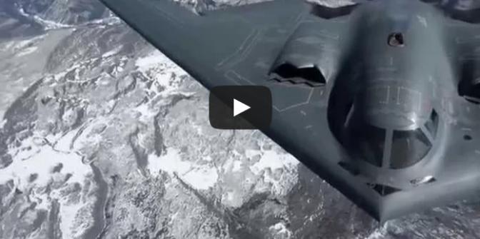 B-2 Spirit Stealth Bombers