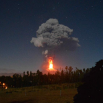 Chile's Villarrica volcano erupts spewing hot rock and lava