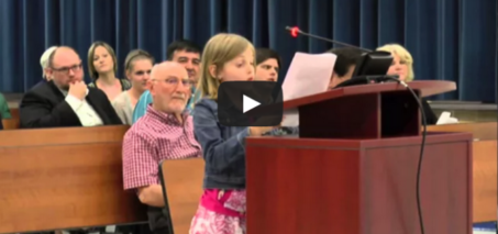 Fourth grade student sounds off on state testing