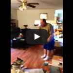 Husky Shenanigans – Dog yells back at his owner scolding him