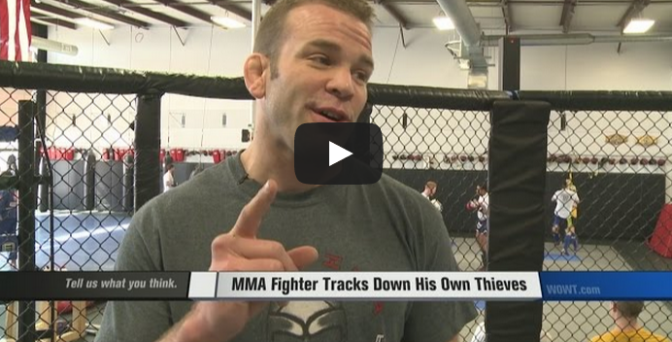 MMA Fighter Tracks Down His Own Thieves