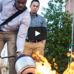 Pump Up the Bass to Douse a Blaze: Mason Students' Invention Fights Fires