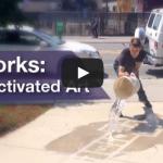 Rainworks – Rain-Activated Art in Seattle, Washington