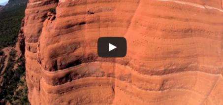 Riding the White Line – Mountain Biking Drone Video